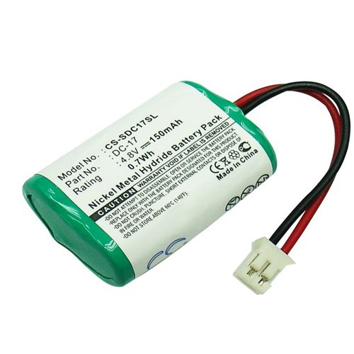 Batterie pour Trainer Champ Sportdog sd-400 Ni-MH 4,8 V 150 mAh – DC-17, 4sn-1/4aaa15h-h-jp1, DC-17 _ 5, mh120aaal4gc, 650–058