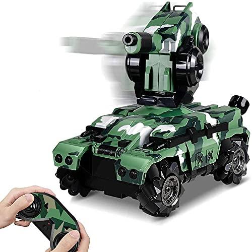 YSKCSRY 2,4 GHz Drahtlose RC-Auto-Panzer...