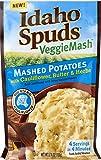 Idaho Spuds Veggie Mash, Cauliflower Butter & Herb Mashed Potatoes, 10 Count