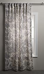 top 10 tahari curtains gray Maison d'Hermine The Miller Curtains 100% cotton Living room, bedroom, office panels …