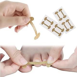 HJJH Paronychia Toenail Treatment Tape Recover Corrector, Toe Nail Healing Fingernail Care Tool, Ingrown Toenail Tape Correction Tape Stickers, 20 Pcs