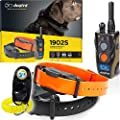 Dogtra 1902S 2-Dogs Remote Training Collar - 3/4 Mile Range, IPX9K Waterproof, Rechargeable, 127 Training Levels, Vibration - Includes PetsTEK Dog Training Clicker