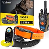 Dogtra 1902S 2-Dogs Remote Training Collar - 3/4 Mile Range, IPX9K Waterproof, Rechargeable, 127...
