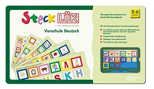 SteckLÜK: Vorschule Deutsch: Alter 5 - 6 (grün): Vorschule / Vorschule Deutsch: Alter 5 - 6 (grün)