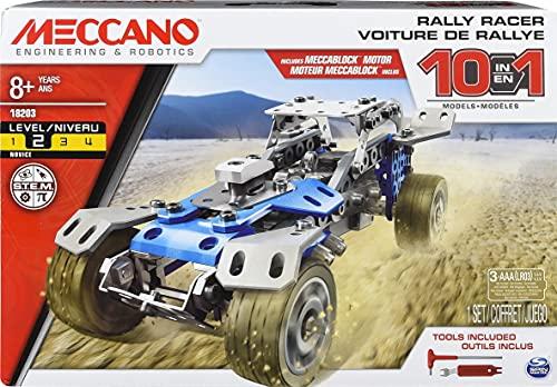 Erector by Meccano Kit de Construction 10 en 1 pour modèles de Rallye à partir de 8 Ans