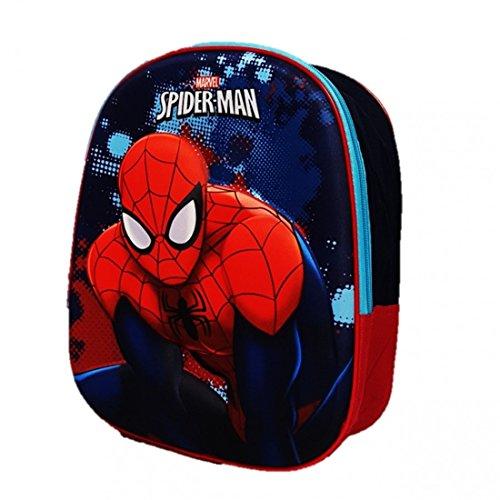 Hasbro Spiderman Zainetto, Multicolore, 0