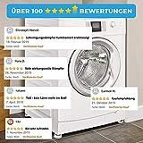 Vanisty - [4x] Universal Schwingungsdämpfer MADE IN EUROPE für Waschmaschinen & Trockner - rutschfeste anti Vibrationsdämpfer - Vibration Dämpfer - Gummifüße für Waschmaschinen - 6