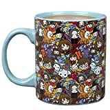 Harry Potter Chibi Ceramic Coffee Mug - Harry Potter Characters Chibi Design - 11 oz