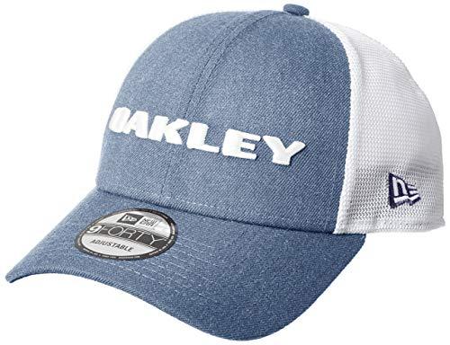 Oakley Gorra Snapback De Visera Curva New Era Heather Ozone (Default, Azul)