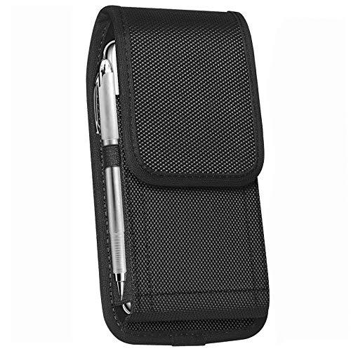 ykooe Handy Tasche Gürteltasche Nylon Hüftentasche für iPhone 11/7/6, Samsung Galaxy A70/A40/A50/A20E/S10 Handytsche