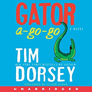 Gator A-Go-Go audiobook cover art