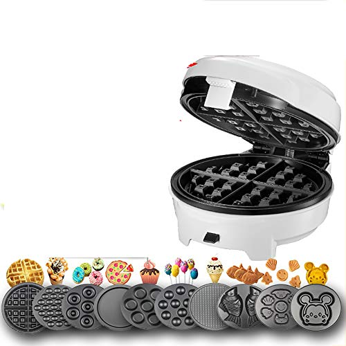 Review Of Electric Waffle Maker,Suitable for Single Pancakes, Biscuits, Eggs, Etc. When Going Out fo...