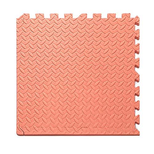 WZHIJUN Tapis de jeu Enfant Épissure Épaissir Bébé Crawl Tapis de Mousse avec Barre Latérale 8 Couleurs (Color : Red, Size : 25x25x1.6CM)