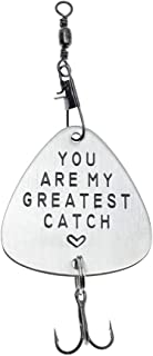 Ms.Clover You are My Greatest Catch Fishing Lure, Gift for Husband, Gift for Dad, Gift for Boyfriend, Gift for Fiance, Best Catch
