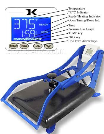 Geo Knight Heat Press DK20 16'x20' Heat Transfer Press