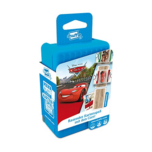 ASS Altenburger 22502229 - Shuffle - Disney Cars, Kartenspiel