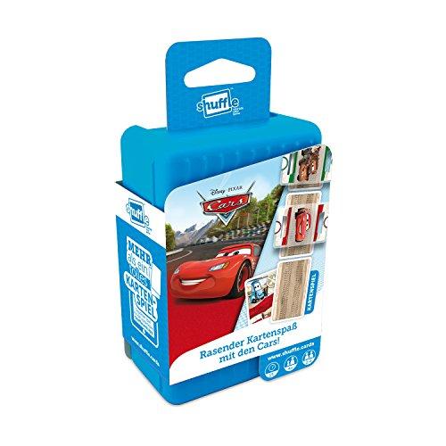 ASS Altenburger 22502229 - Shuffle - Disney Cars, Kartenspiel