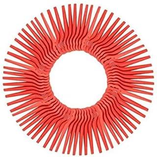 AAGOOD 100PCS plástico cortadora de césped Trimmer Cortador de Hierba Segadora de Corte de Repuesto jardín Segadora reemplazo de Herramientas de jardinería Auxiliar (Rojo)