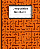 Composition Notebook: Maze College Ruled Composition Notebook 120 Pages Cute Adorable Soft Large Beautiful Writing Journal for Homework School College Workbook for Teens Adults Boys or Girls