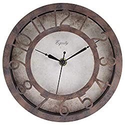 La Crosse Technology Equity by La Crosse 20861 8-inch Patina Analog Wall Clock