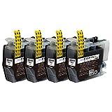LC3111-BK/ブラック 4本セット [Brother]ブラザー 新互換インクカートリッジ (最新型ICチップ付き) 【A.I.S製品】