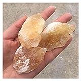 LUKJOPAN Cristal áspero 3-5 cm Citrinos Cristal Natural Piedras Mineral DE CUTIMIZ Cristal Cristal Crudo Piedra DE Piedra Roca DE Piedra DE Piedra DE PEQUEÑA COLECCIÓN DE CANACIÓN