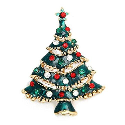 Vovotrade Vendita Calda Albero di Natale Spilla Pin Regali di Natale