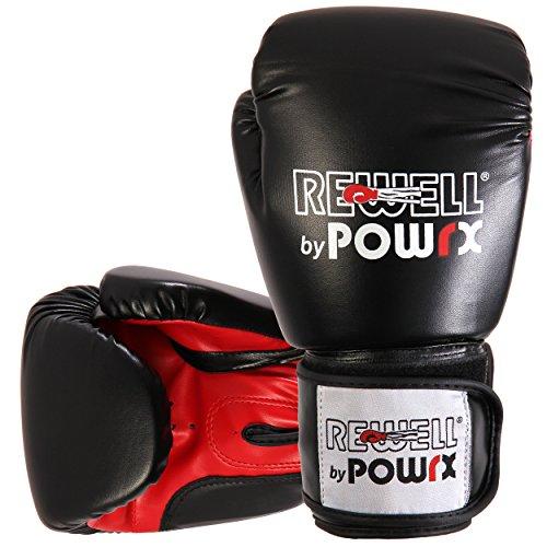 POWRX – Guantes de boxeo para adulto – Ideales para Kick