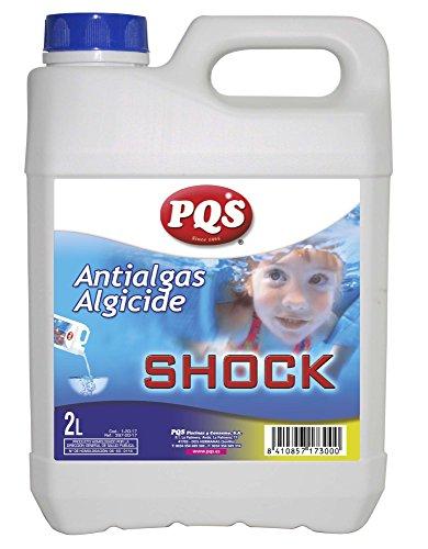 PQS Antialgas - Algicida de Choque Botella 2 Lt.