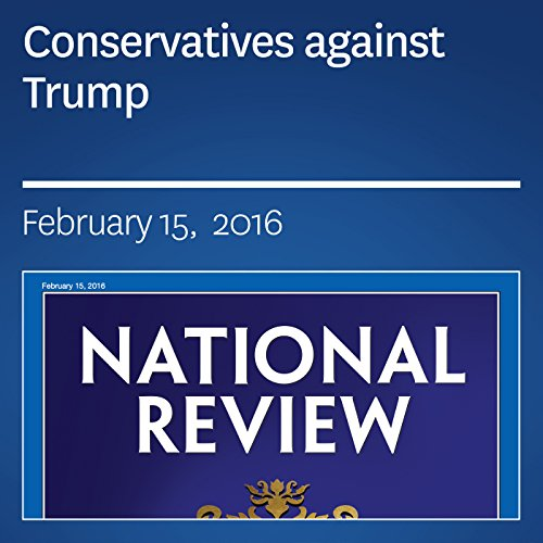 Conservatives against Trump cover art