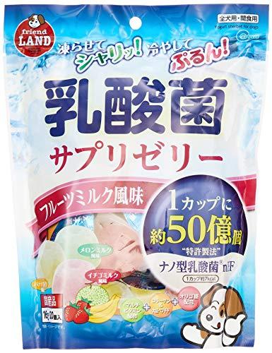 フレンドランド 犬用おやつ 乳酸菌サプリゼリー フルーツミルク風味 16g×20個