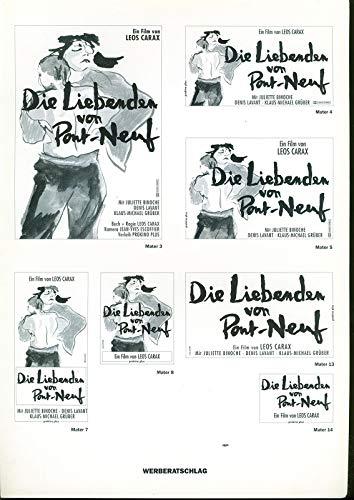 Die Liebenden von Pont-Neuf - Werberatschlag