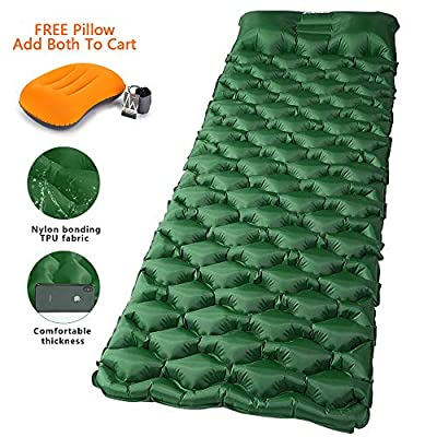 Weanas Camping Sleeping Pad, Waterproof Inflata...