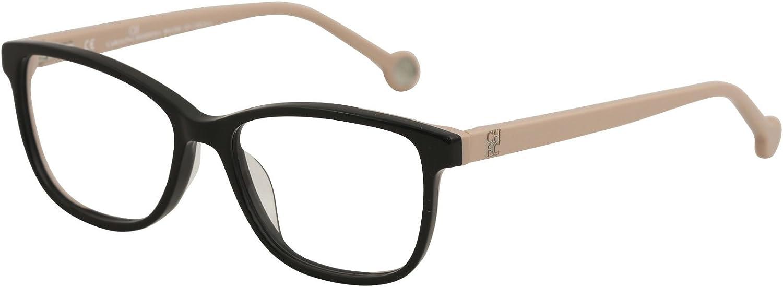 Carolina Herrera Designer Eyeglasses VHE719K700Y in Black 50mm DEMO LENS