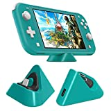 Protable Charging Dock for Nintendo Switch Lite 2019 Stable Support Stand Charging Station for Switch Lite with Type C Input Port (Turquoise)