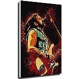 Tankaa Wandkunst, Leinwanddruck, Motiv: Lemmy Motorhead,