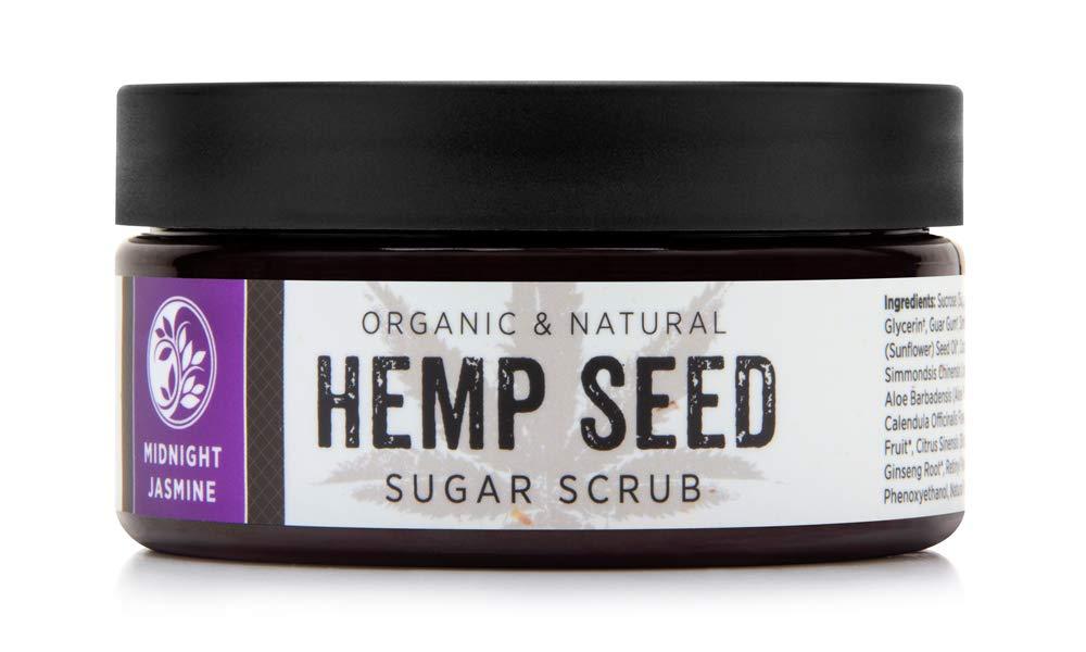 MIKA NATURALS Organic All stores are sold Super special price Hemp Seed Midnight – Sugar Scrub Jasmine