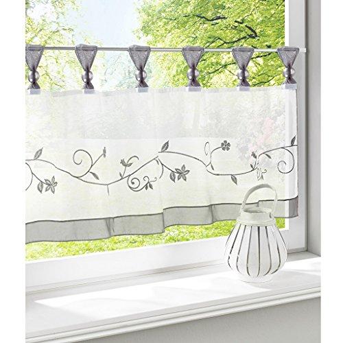 cortinas cocina cortas modernas