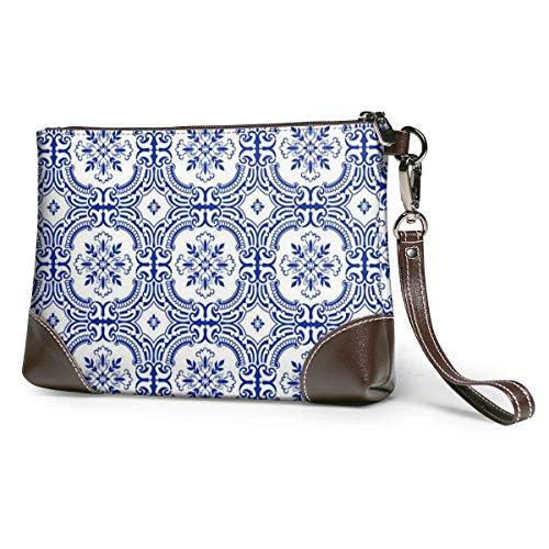 JHGFG Geometric Shading Leather Hand Bag 3D HD Printed,Makeup Bag Handbag Purse Wristlet Wallet Clutch Phone Purse Money Pouch Wristlet Clutch Bag Women Girls