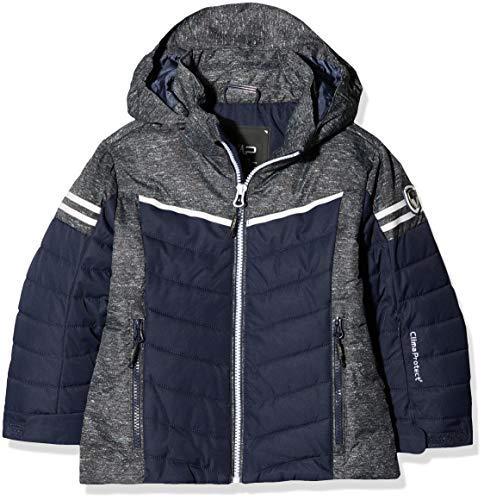 CMP Mädchen Wattierte 5000 Twill Skijacke Jacke, Black Blue, 116