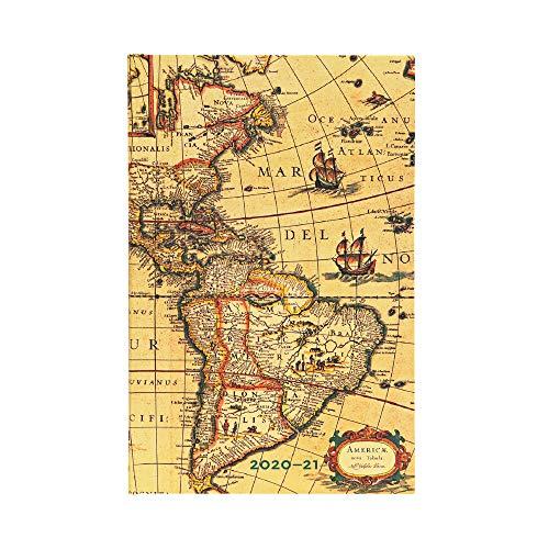 Paperblanks 2020-2021 - Calendario 18 mesi emisfero occidentale verticale, 135 x 210 mm