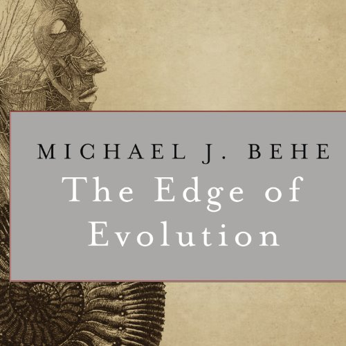 The Edge of Evolution audiobook cover art