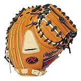 ローリングス(Rawlings) 野球用 軟式 HYPER TECH R2G COLORS [キャッチャー用] ミットサイズ33.0 GR1HTC2AF リッチタン/キャメル サイズ 33 ※右投用