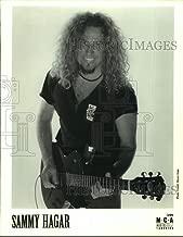Vintage Photos 1999 Press Photo Musician Sammy Hagar - sap05140
