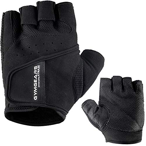 GYMGEARS Trainingshandschuhe für Damen und Herren - Fitness Handschuhe für Krafttraining, Bodybuilding, Kraftsport & Crossfit Training - Gym Workout Gloves Unisex