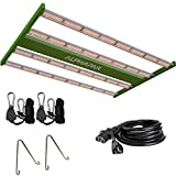 CDMALL Full Spectrum LED Grow Light 400W AlphaPar Linear LED Grow Strips Sunlike Pro Series Grow Lamps 3X3 FT Coverage for Indoor Hydroponics Growing Kit
