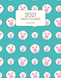 2021 Weekly Planner Hamster: Dated With To Do Notes And Inspirational Quotes - Adorable Hammy Hamster