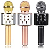 Mindmaker WS-858 Wireless Bluetooth Microphone Recording Condenser Handheld Microphone Stand with Bluetooth Speaker