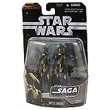 Star Wars Battle Droids paquete de 2 infantería y comandante