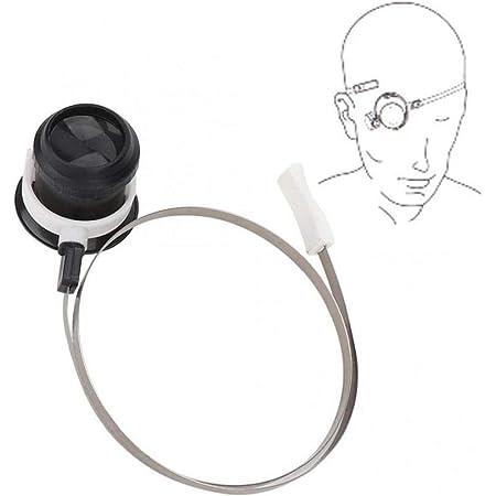 5X Eye Strumento Magnifier Guarda Lente d'ingrandimento della lente di ingrandimento della lente Guarda accessori di riparazione con la testa della vigilanza della fascia Strumento per orologiaio